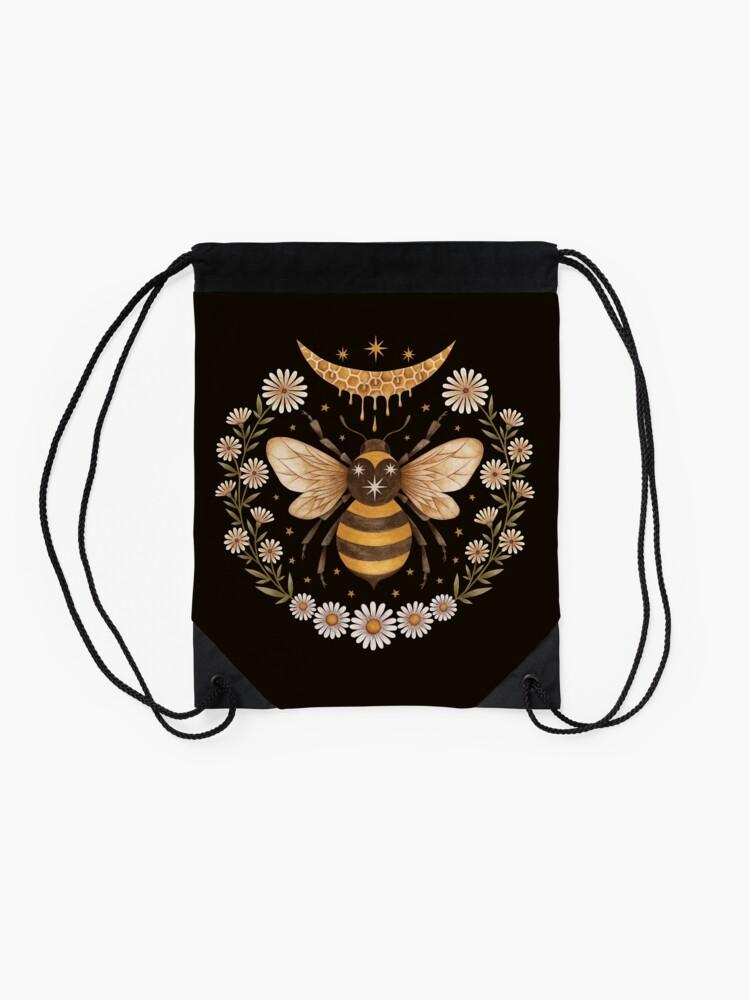 Alternate view of Honey moon Drawstring Bag