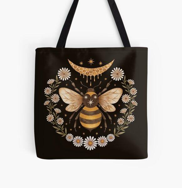 Honey moon All Over Print Tote Bag