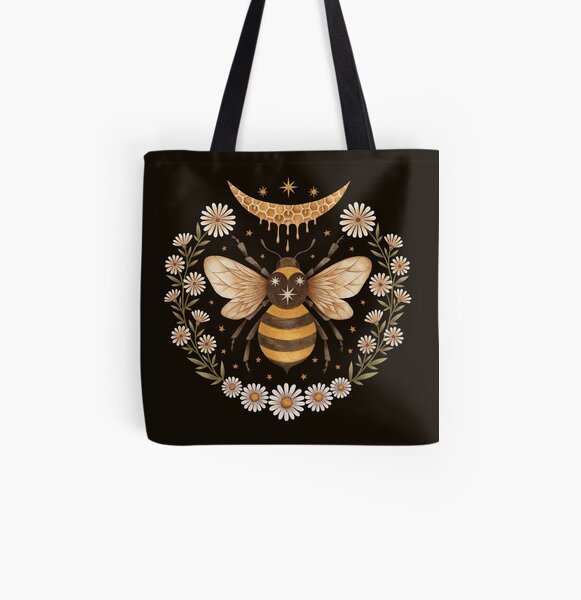 Honey moon All Over Print Tote Bag