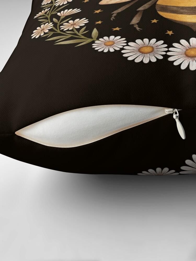 Alternate view of Honey moon Throw Pillow