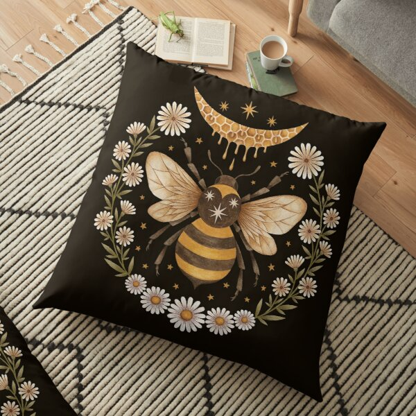 Honey moon Floor Pillow