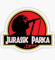 Jurassic Parka Sticker
