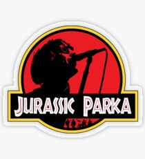 Jurassic Parka Transparent Sticker