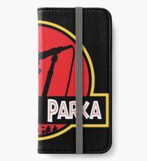 Jurassic Parka iPhone Wallet/Case/Skin