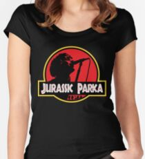 Jurassic Parka Fitted Scoop T-Shirt