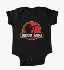 Jurassic Parka Short Sleeve Baby One-Piece
