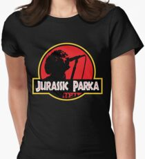 Jurassic Parka Fitted T-Shirt