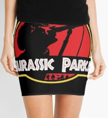 Jurassic Parka Mini Skirt