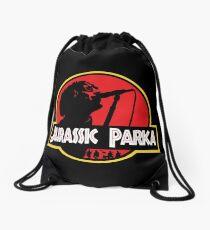 Jurassic Parka Drawstring Bag