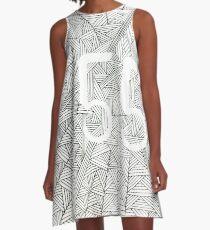 55 Birthday Pattern A-Line Dress