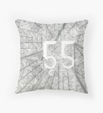 55 Birthday Pattern Floor Pillow