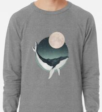 by the light of the moon Lightweight Sweatshirt