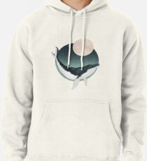 by the light of the moon Pullover Hoodie
