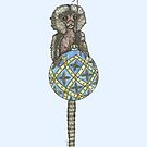 Pygmy Marmoset Bauble by SerenSketches