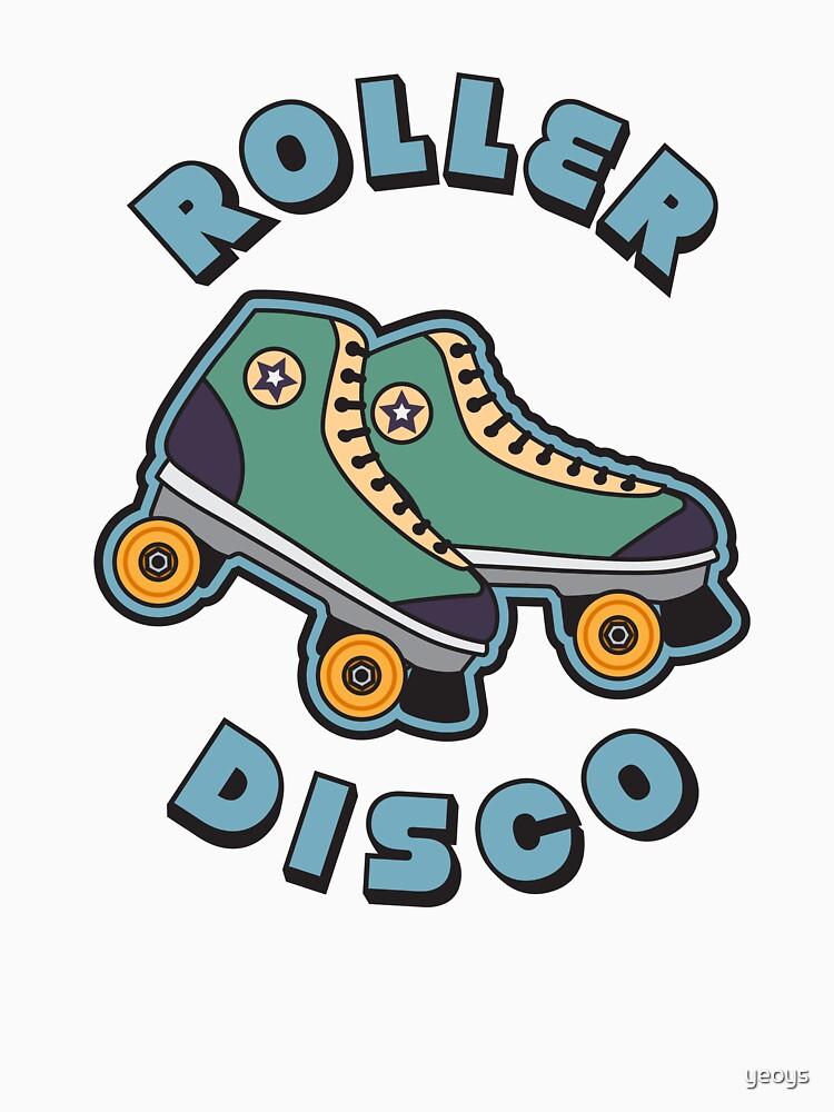 Roller Disco - Hipster Retro Vintage Gift von yeoys