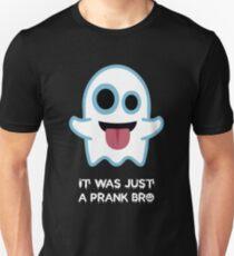 "Halloween T-Shirt Grafikdesign ""It was just a prank bro"" Slim Fit T-Shirt"