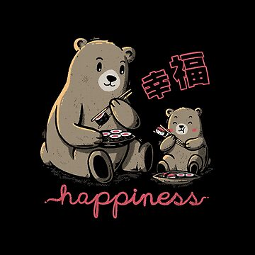 Happiness Sushi by tobiasfonseca