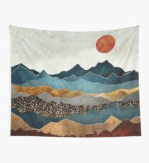 Amber Dusk Wall Tapestry