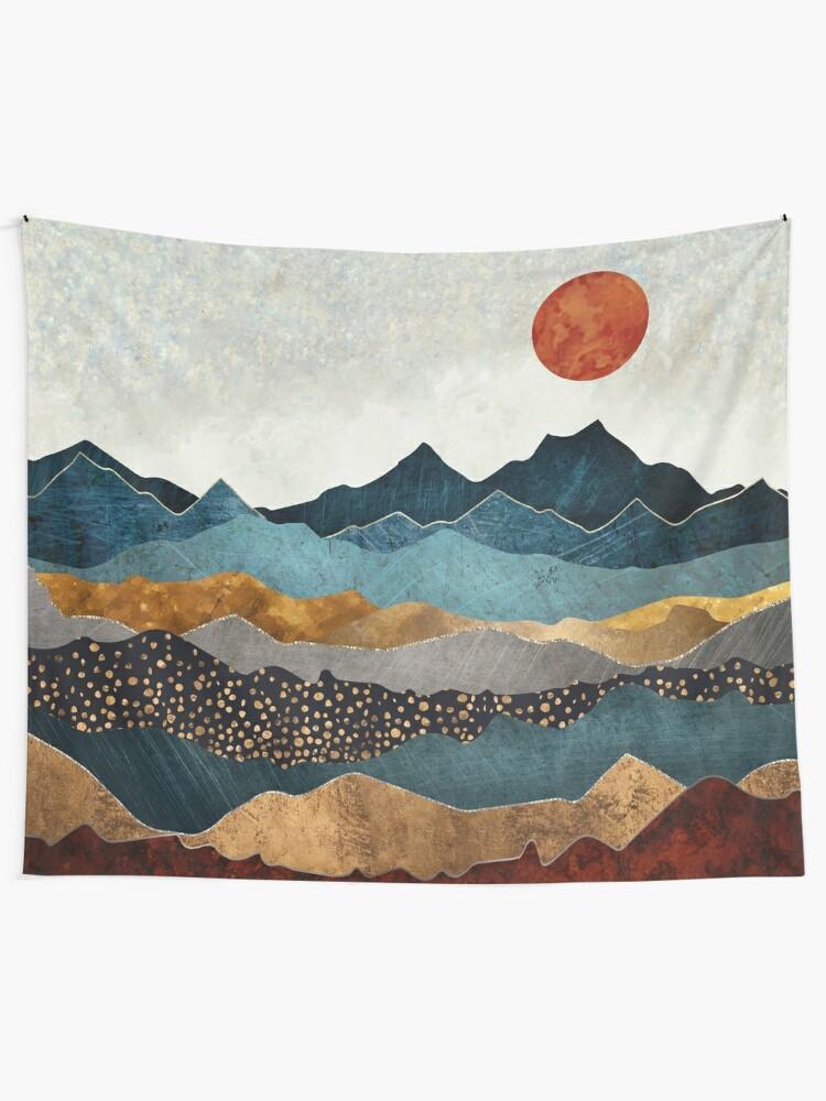 Alternate view of Amber Dusk Tapestry