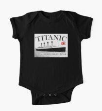 TITANIC, RMS Titanic, Cruise, Ship, Disaster One Piece - Short Sleeve