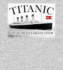 TITANIC, RMS Titanic, Cruise, Ship, Disaster. Kids Pullover Hoodie