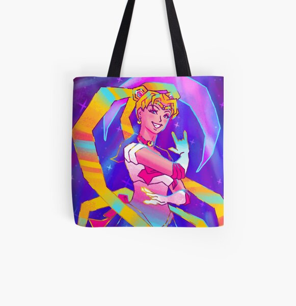 Sailor Moon All Over Print Tote Bag