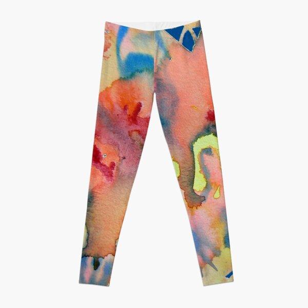 Watercolor for Lisa, abstract Leggings