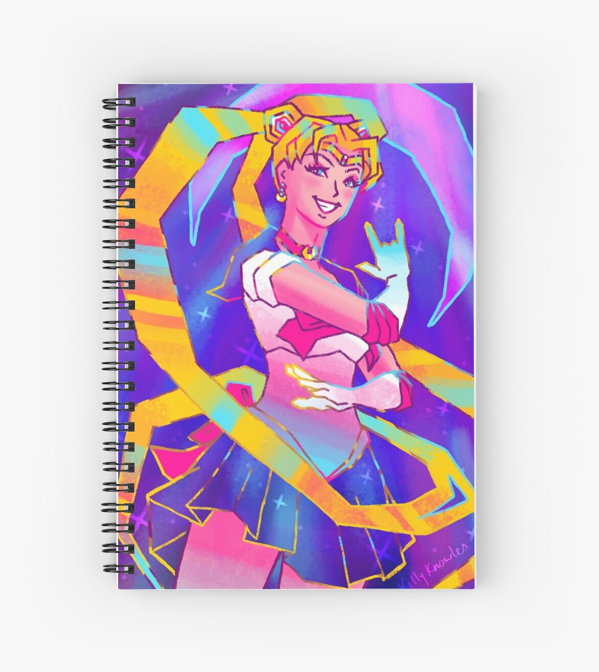 Sailor Moon by Kelly Knowles