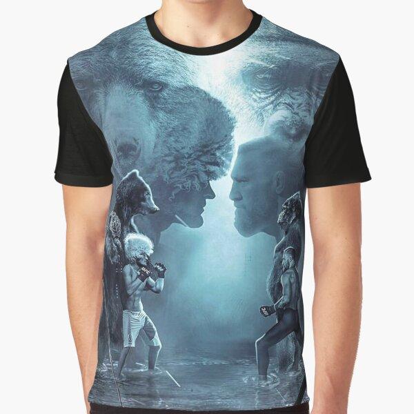 Conor McGregor vs Khabib Nurmagomedov Graphic T-Shirt