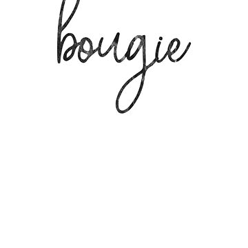 Bougie Bourgeoisie by riverportgifts