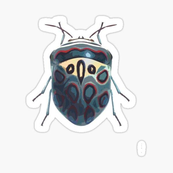 Picassso Shield Bug Sticker