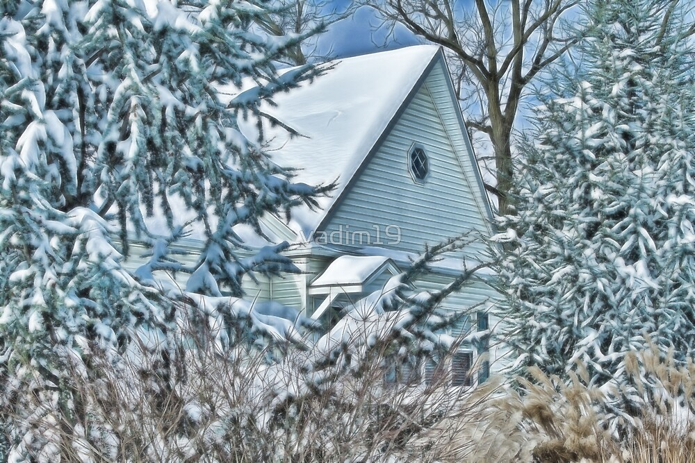 The Winter Cottage by vadim19