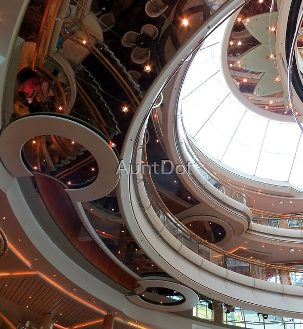 Atrium Abstract by AuntDot