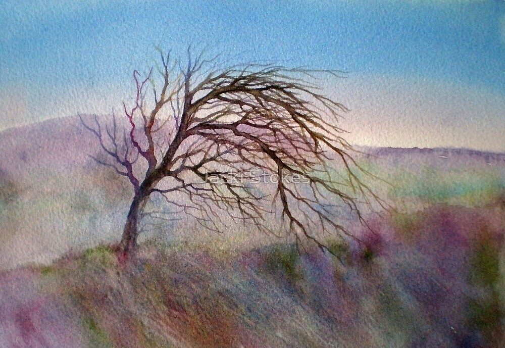 Wild Mountain Thyme (Original painting sold) by Jacki Stokes
