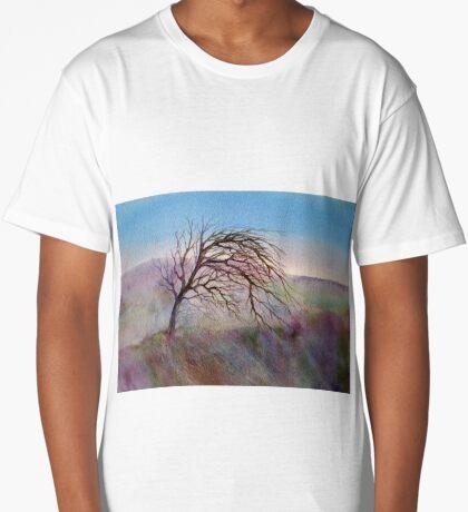 Wild Mountain Thyme (Original painting sold) Long T-Shirt