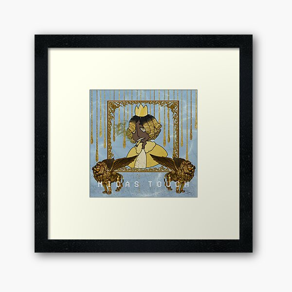 King Midas Touch Wall Art Redbubble