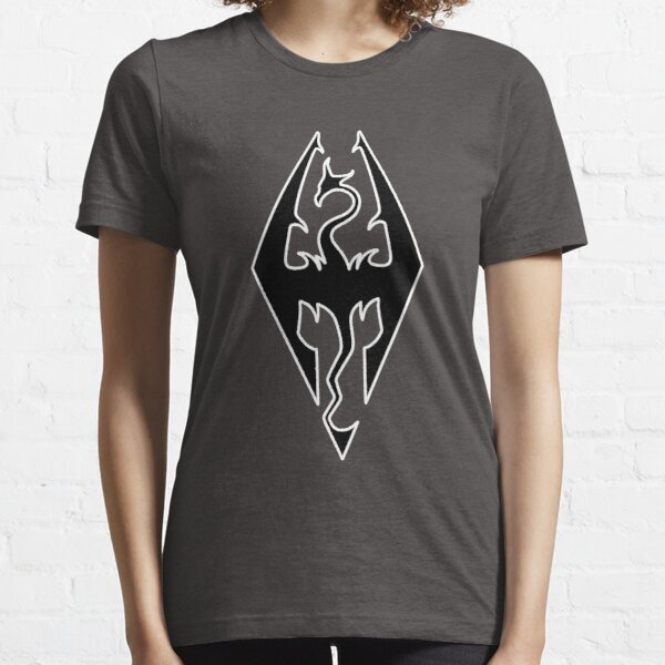 Skyrim logo design Essential T-Shirt