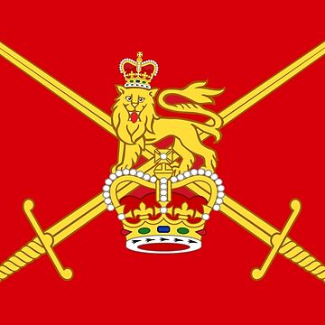Flag of the British Army by TOMSREDBUBBLE