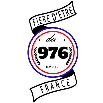 Proud to be 976 by capricedefille