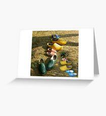 Clogs Greeting Card