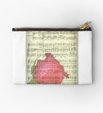 My Love is Like a Red Red Rose Studio Pouch