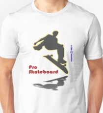 Pro Skateboard tee-shirts and stickers T-Shirt