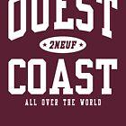 « Ouest Coast Athletic - [REMASTERED] » par 2NEUF