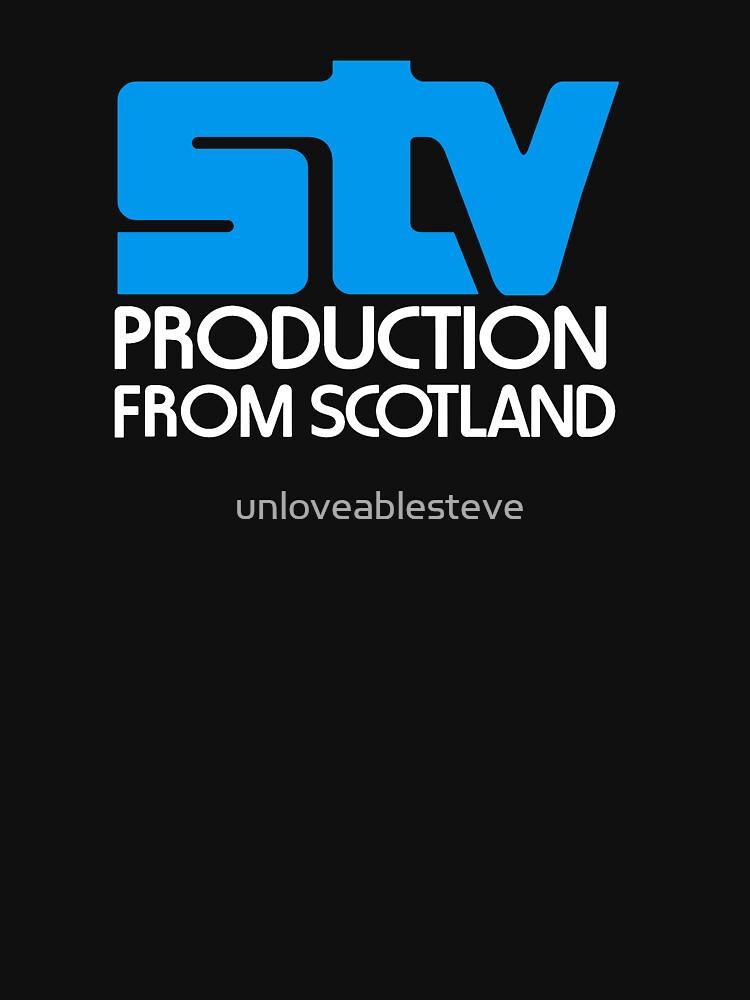 Scottish television STV retro logo by unloveablesteve