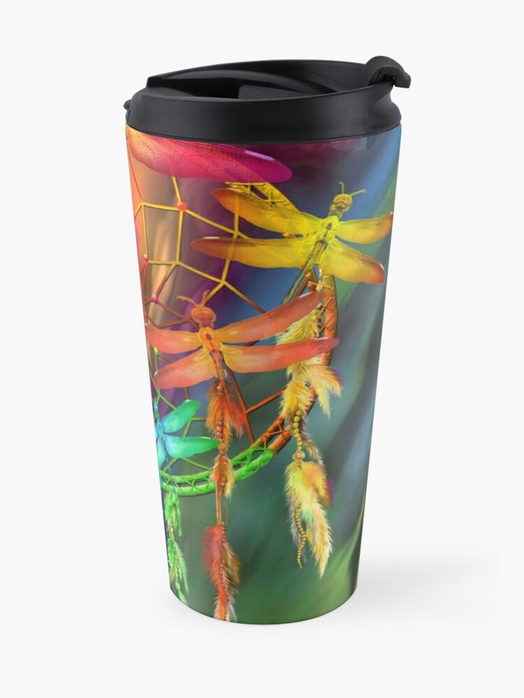 Alternate view of Dragonfly Dreams Travel Mug