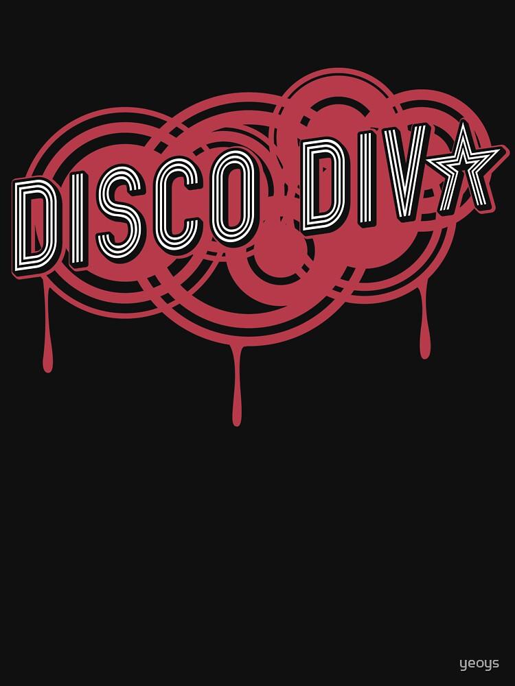 Disco Diva Nightlife - Hipster Retro Vintage Gift von yeoys