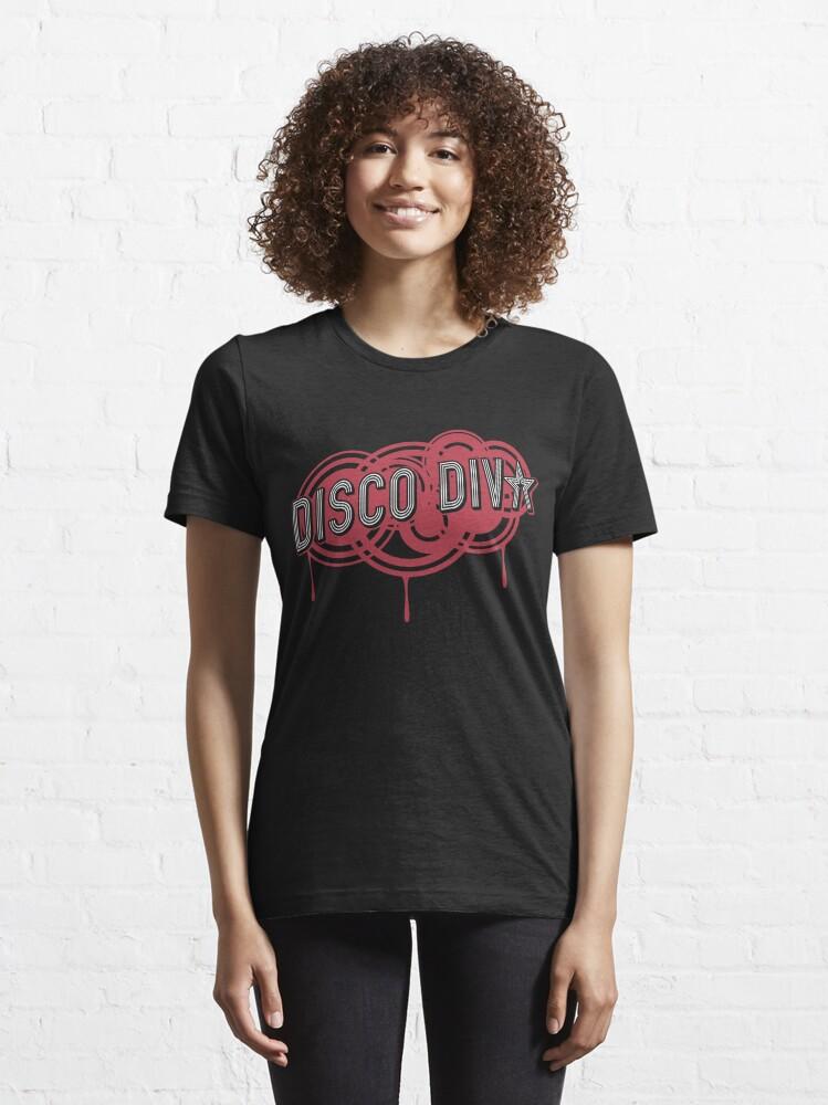 Alternative Ansicht von Disco Diva Nightlife - Hipster Retro Vintage Gift Essential T-Shirt