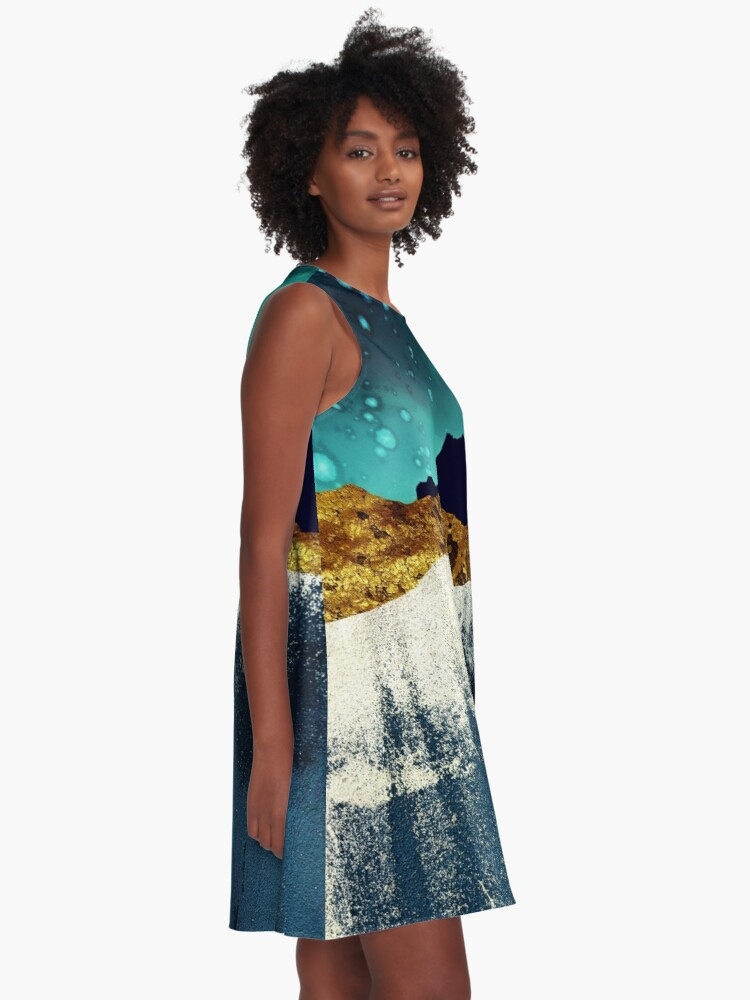 Alternate view of Evening Stars A-Line Dress