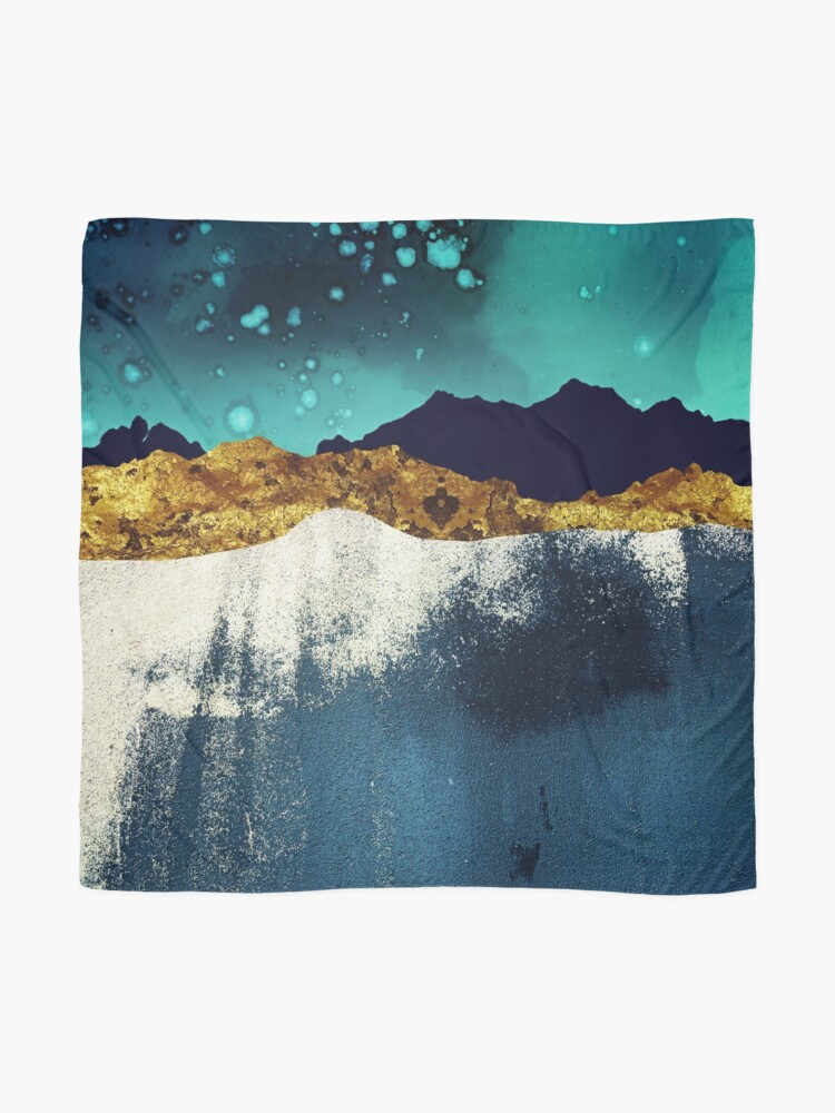 Alternate view of Evening Stars Scarf