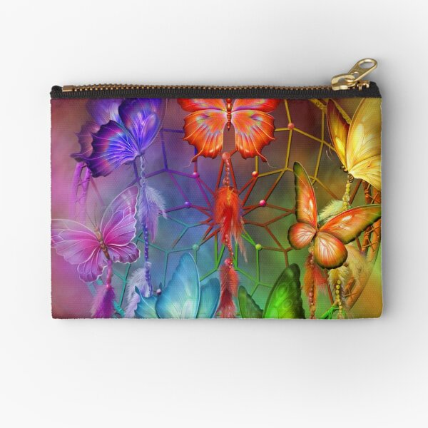 Dream Catcher - Rainbow Dreams Zipper Pouch